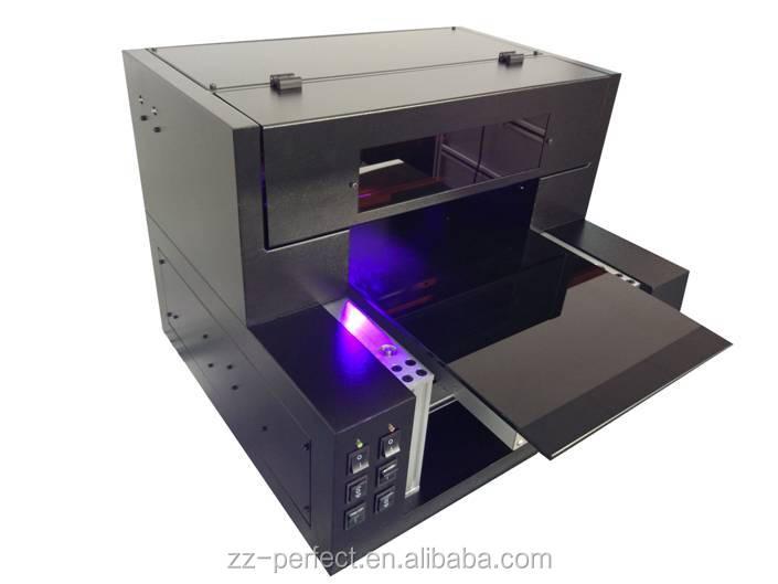 6 kleur A3 multifunctionele digitale mobiele mobiele telefoon geval uv flatbed printer