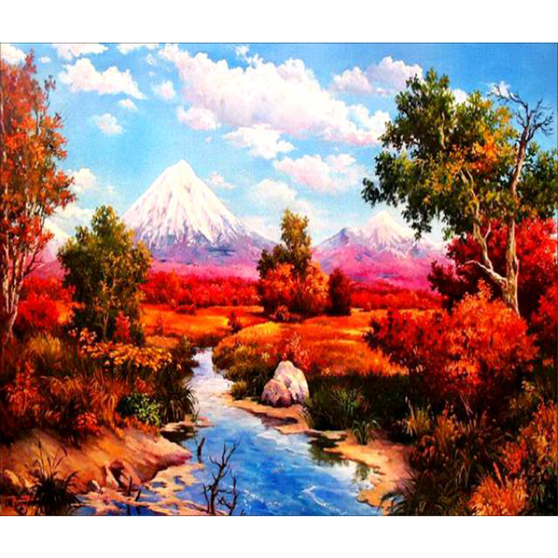 Beautiful Pictures Famous Handmade Natural Scenery Painting