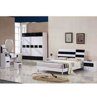 Home apartment hotel Furniture set 1.5/1.8 Meter Bed home furniture bedroom set