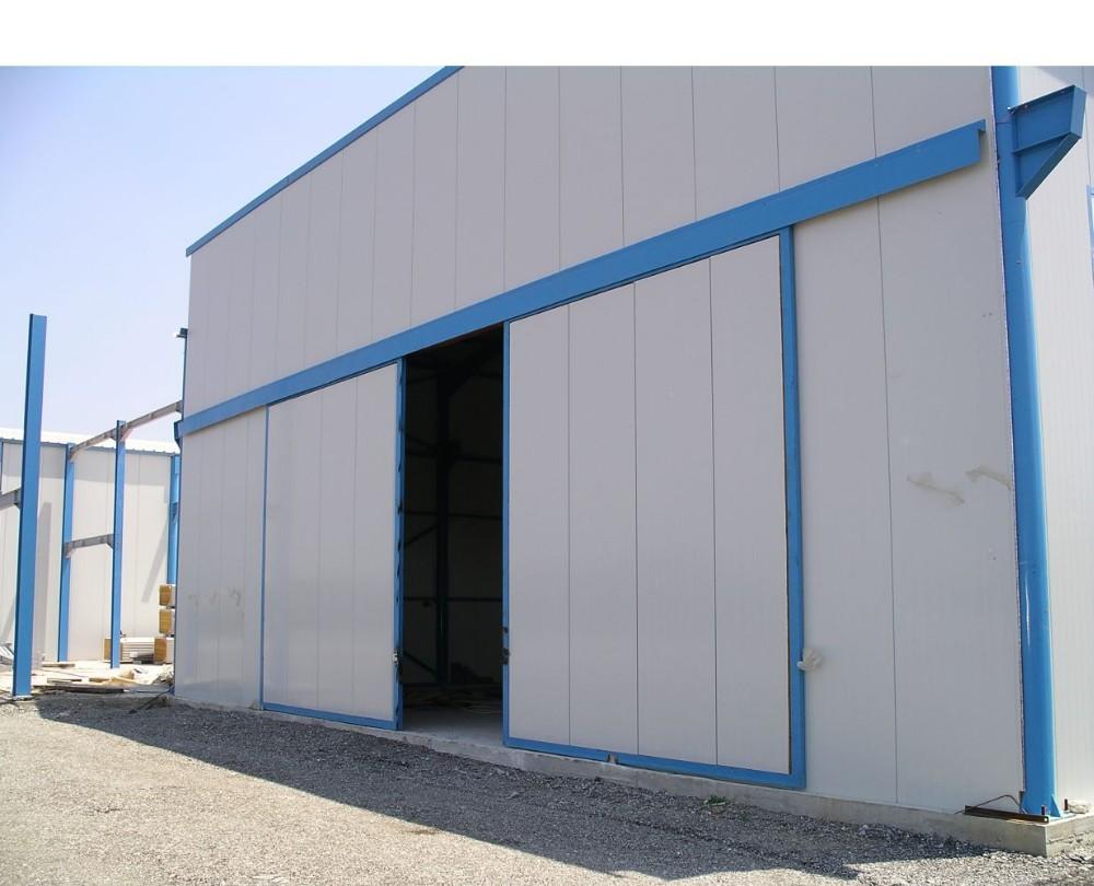 product-Automatic Industrial MetalDoor Gate For Warehouse Sliding Door-Zhongtai-img-1