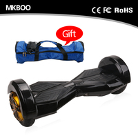 8 inch tire 350W two wheel smart balance electric scooter for adults with bluetooth and sound