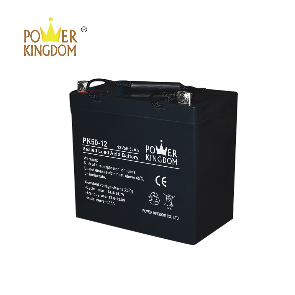 Power Kingdom Best agm battery advantages with good price solar and wind power system