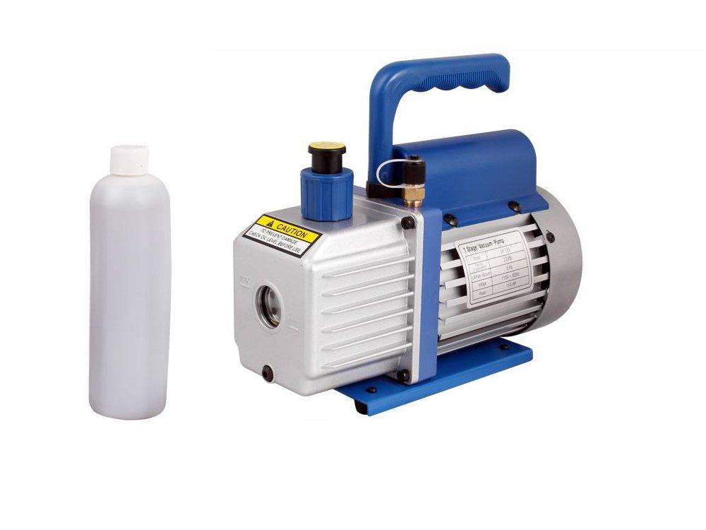 TMS 3 CFM 1/4HP Rotary Vane Deep Vacuum Pump AC A/C HVAC Air Refrigerant R410a R134