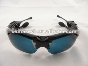 Cool New Style FM radio MP3 Player Sunglasses with Bluetooth