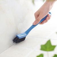Household plastic handle magic sofa carpet wall bathroom cleaning tile grout dusting scrub floor cleaner brush