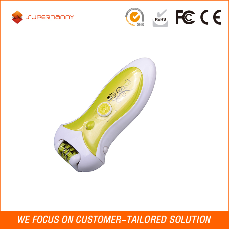 Oem Electric Hair Remover Callus Shaver Electronic File Epilator