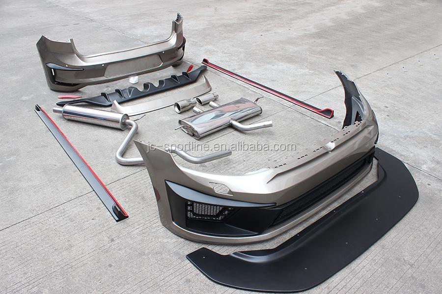 factory pu r400 golf mk7 bodykit for vw golf 7 vii mk7 2014 buy golf mk7 bodykit mk7 bodykit. Black Bedroom Furniture Sets. Home Design Ideas