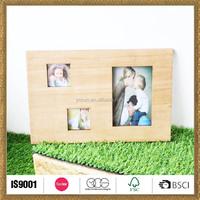 latest custom made handicraft wood picture photo frame decoration