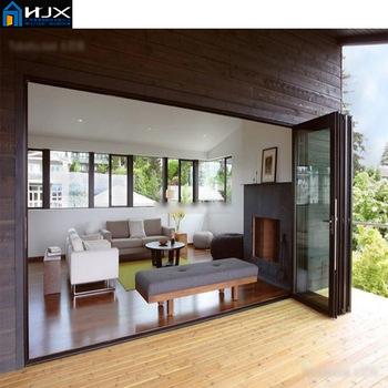 Aluminum Soundproof Folding Interior Door Balcony Bifold Door Buy