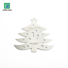 Handmade stainless steel crafts carving Christmas tree ornaments