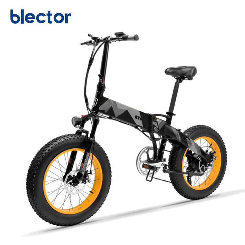 500W Pedal Assist Electric Fat Bike Wholesales, Black orange or oem