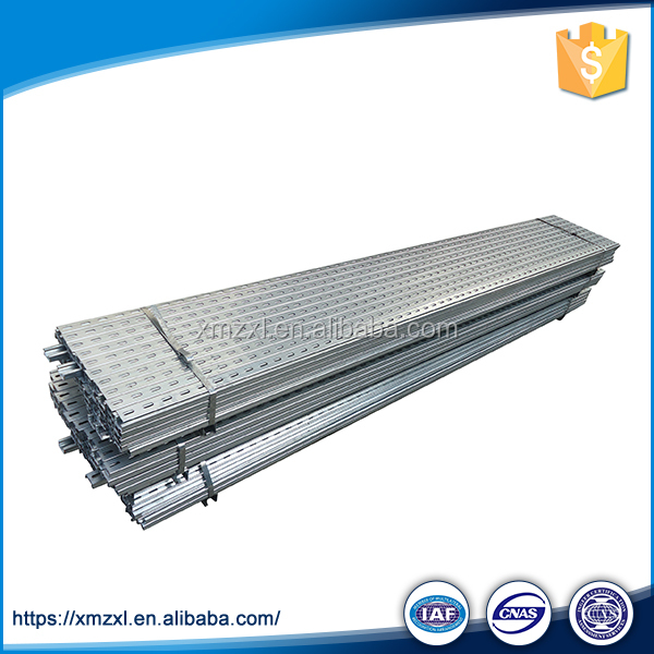 Standard Steel Structure Hanging Corrosion Resistance Galvanized Sheet U Channel
