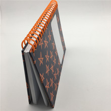 Free sample 2012 hardcover spiral notebook