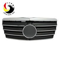Chrome Grille for Mercedes Benz W124 Black Silver grill for benz E CLASS 1993-1995