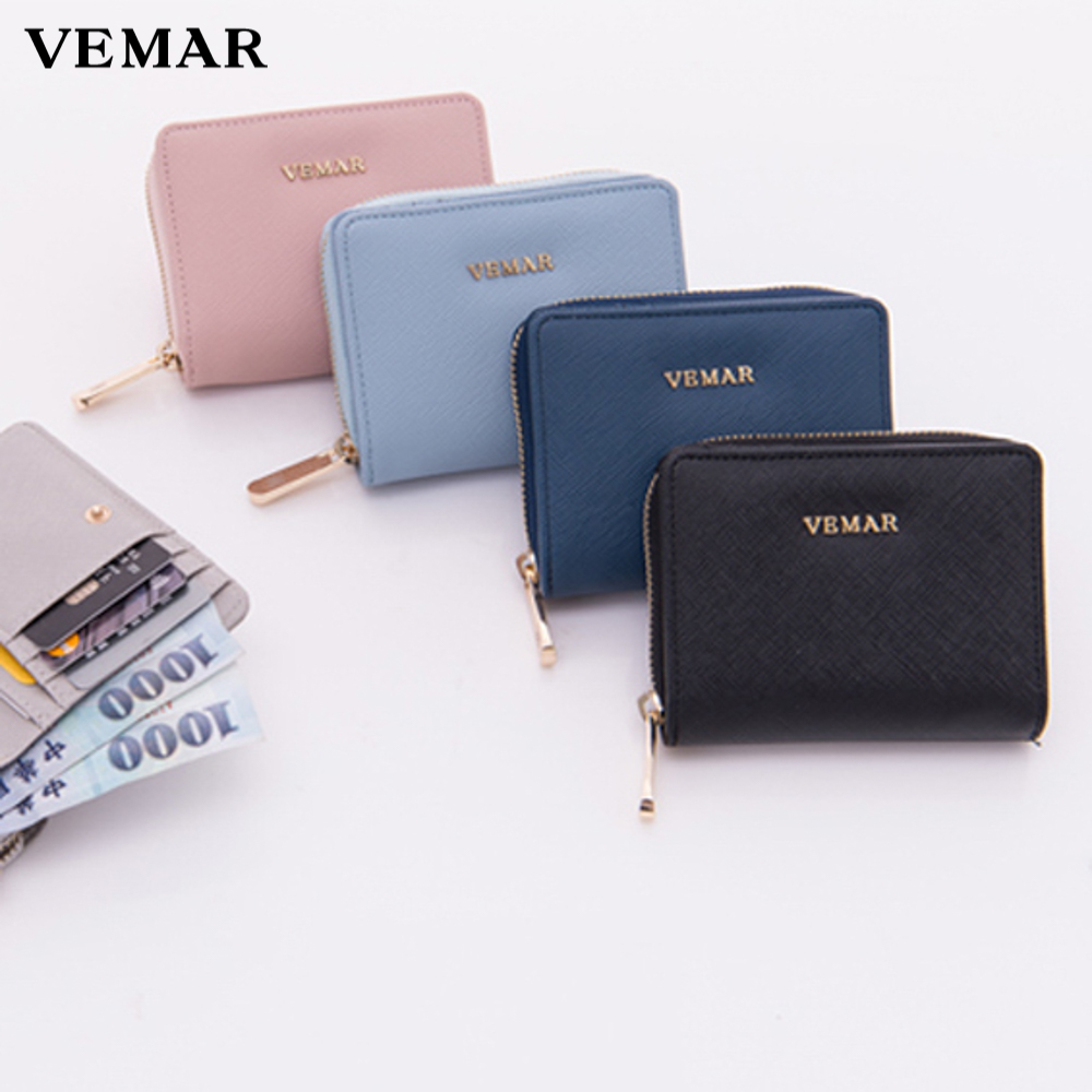 smooth and soft pvc leather fabricvegan travel ticket short wallets
