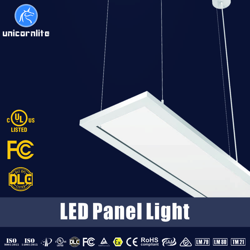 High light efficiency 130lm/w real energy saving 30W 50W LED panel light square lighting fixtures for office