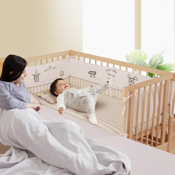 Hot Sale New Products White Swinging Wooden Baby Crib With Great Price