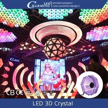 3d Decoration Interieure Lumiere Lustre En Cristal D Eclairage Pour
