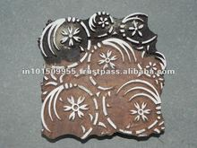 Custom logo wooden stamp block set for printing buy at best prices on india Arts Pal