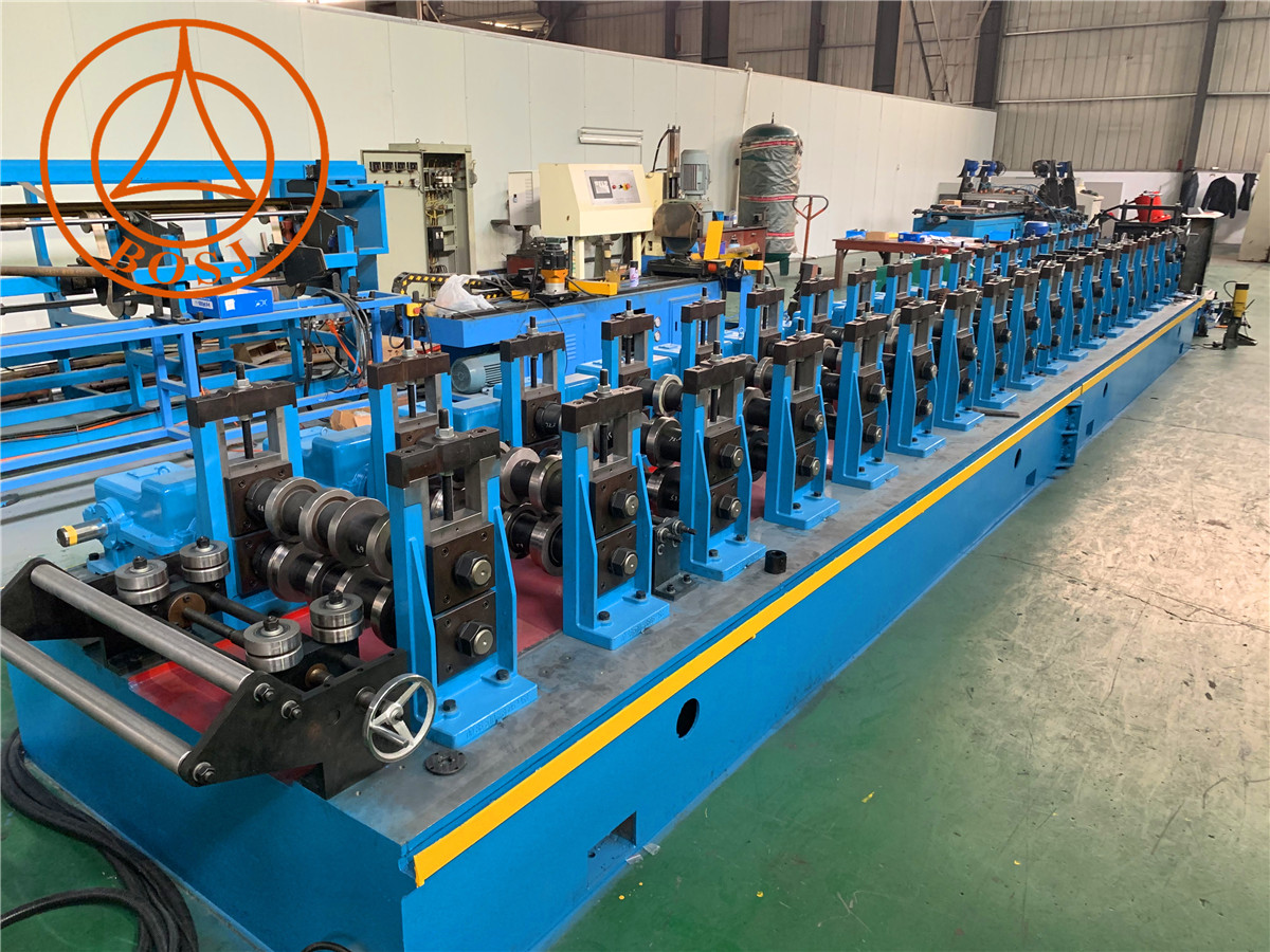 Automatic Marine Construction Scaffolding Plank Walking Board Roll Forming Production Machine Factory