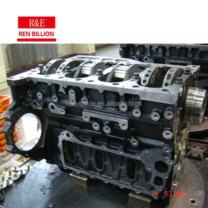 ISUZU auto engine 4HE1cylinder block/long block/short block