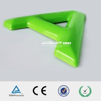 China cheap and popular large outdoor vacuum forming colorful acrylic led luminous sign