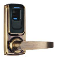 Small fingerprint door lock