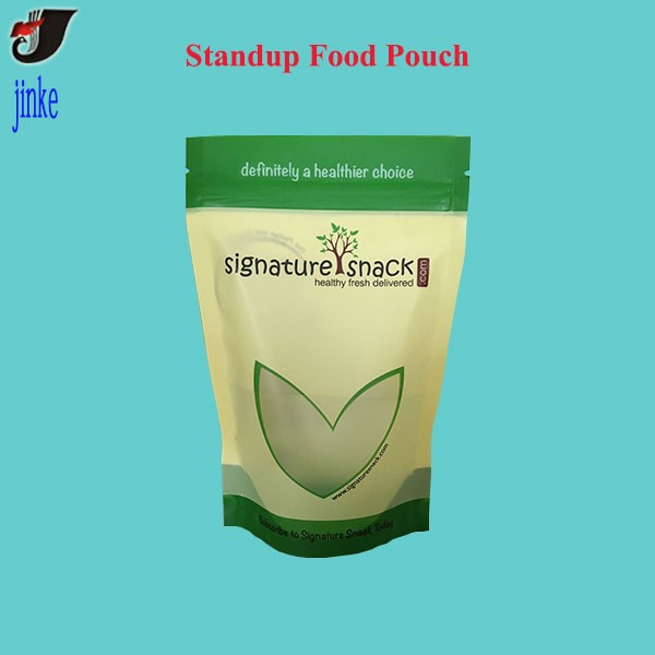 Stand Up Food Pouch