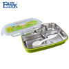 Leak Proof Baby Stainless Steel Food Container with Spoon and Fork