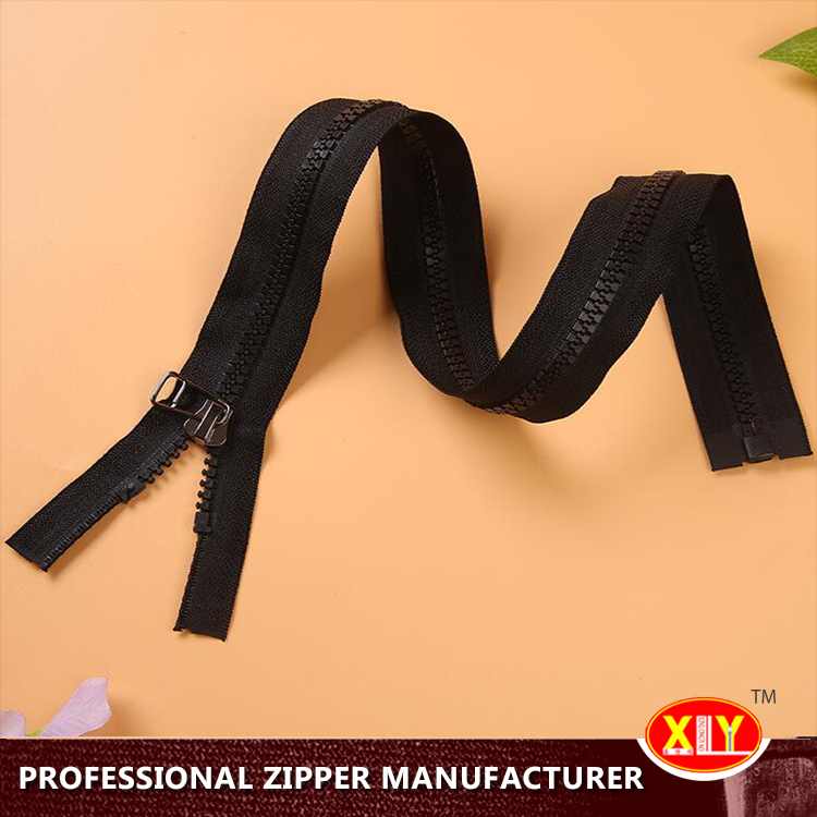 Customized professional derlin zipper for home textiles use