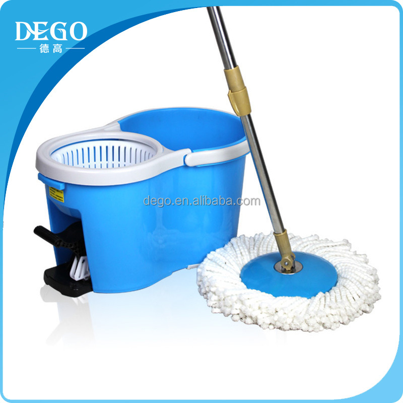 cleaning mop bucket magic floor twist spin mop