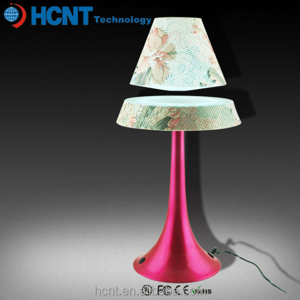 2014 New Colorful LED Light Magnetic Floating Lamp