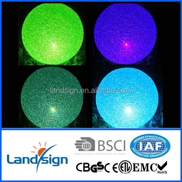 Garden home party deco mood light balls with color changing led