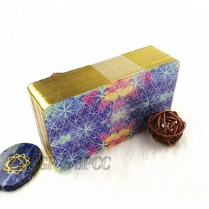 100% manufacturer printing 70x120 mm custom gold edges tarot cards decks uv varnishing with boxes wholesale