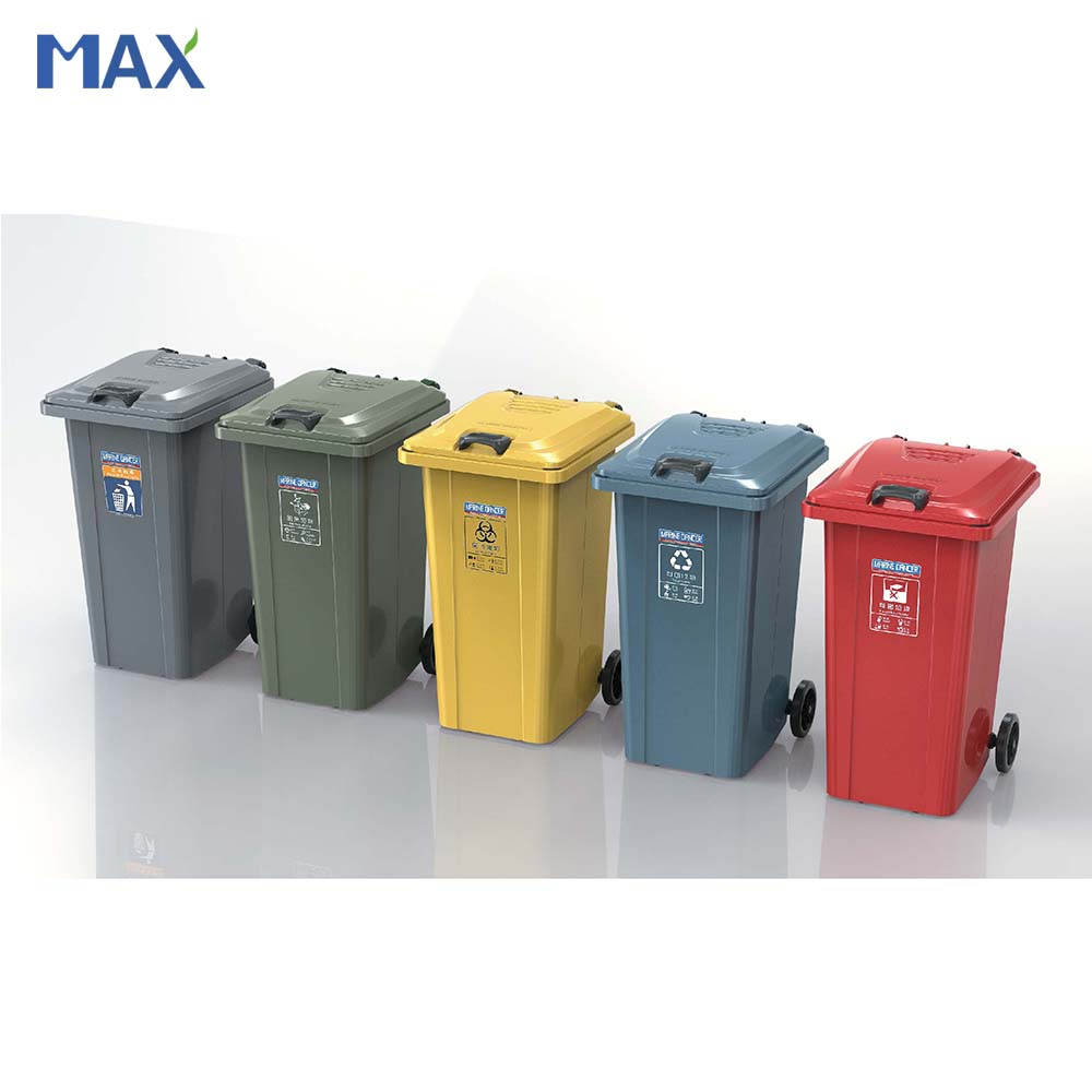 Outside Galvanized Steel Medical Waste Container
