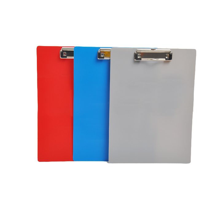 Alibaba Supplier china factory taken off customized plastic a3/a4/a5 wholesale clipboard with metal clipboard clips
