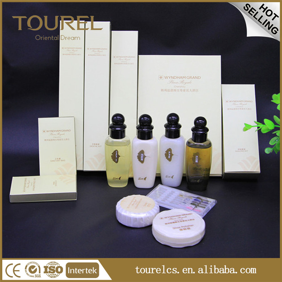 CE ISO Approval hotel amenities set hotel guest room toiletries collections