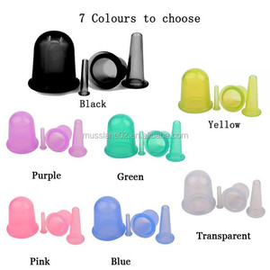 Wholesale Price silicone cellulite body massage suction cups cupping therapy
