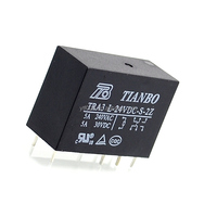 New original TRA3L-24VDC-S-2Z TRA3 L-24VDC-S-2Z 5A 8pin two open two close power relays for TIANBO