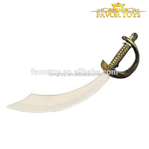Hot selling custom kids pirate sword set small plastic toys