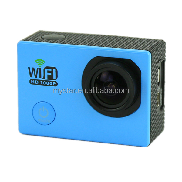 Camera ip Sport camera Sj6000 provide the waterproof shell also support Storage Card Ups to 32G Apply to Hunting camera