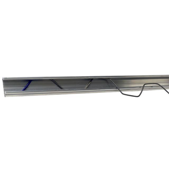 Greenhouse film wiggle wire for lock channel Aluminum Film Lock Profile