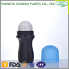 wholesale plastic beauty plastic cosmetic bottle, 60ml pp Colored deodorant roll on bottle