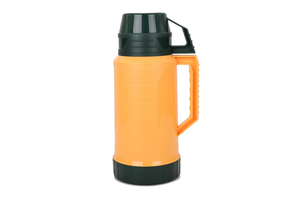 環境に優しい3.2l断熱魔法瓶用温水でガラス並ぶ