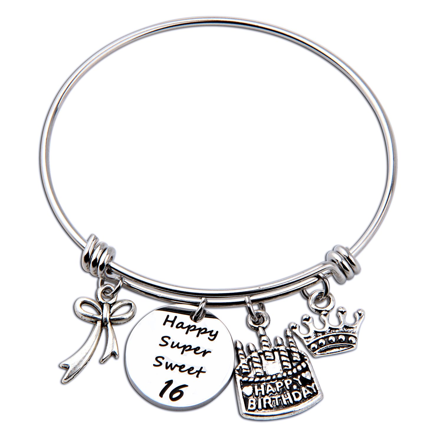 cheap ideas 30th birthday gift find ideas 30th birthday gift deals Birthday Cake with Vegetables get quotations birthday gift for her adjustable birthday bracelet bangle with birthday cake charm 10th 12th sweet