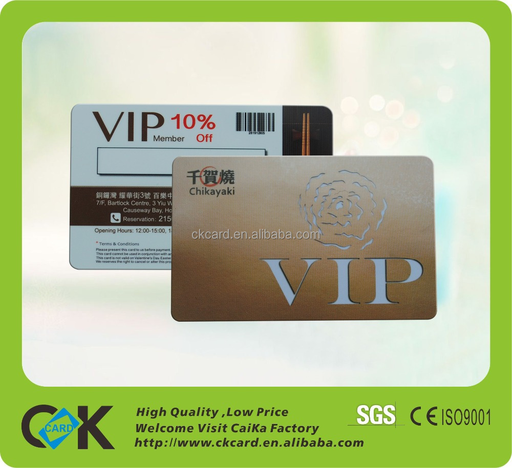 delicate fingerprint smart loyalty card system with factory price