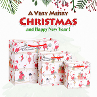 Promotional Recycled Custom Made Christmas Paper Gift Bag