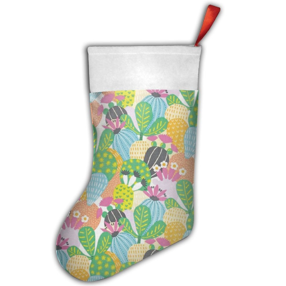 get quotations folklorico desert bloom pastel christmas hanging stockingassorted santa gift socks hanging accessories for xmas - Pastel Green Christmas Decorations