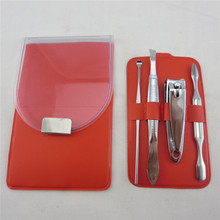 PVC bag plastic manicure and pedicure tools and materials mineral beauty system dead sea