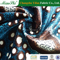 High performance material weft knit barb press polish printed velvet fabric for home textile